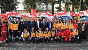 Hatay'da 83 ambulans