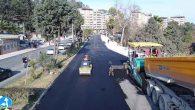 Hatay BŞB asfalt ekipleri Kırıkhan'da