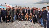 Savaş, balıkçılarla…