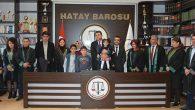 3 genç avukat yemin etti