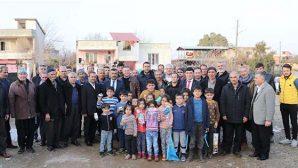 Savaş, Hassa'da seçim bürosu açtı