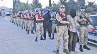 Afrin'de yakalanan teröristlere  ağırlaştırılmış müebbet