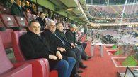 Vali, Milletvekili, BŞB Başkanı,  GS-Hatay maçında