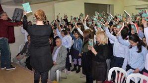 Sümerler Ortaokulu Yazar Kopan'ı ağırladı