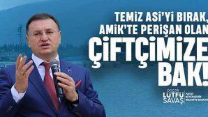 """BŞB Başkanı Savaş, AKP Adayı'nın Asi Projesi'ne """"Fantezi"""" dedi ve ekledi:"""