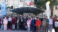 Aydın'dan 40 kişilik öğrenci kafilesi Hatay'da