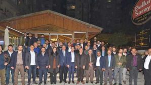 AKP'de gençlerle buluşma
