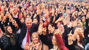 """AKP Adayı Yılmaz'dan """"Kadınlar Günü"""" Mesajı:"""