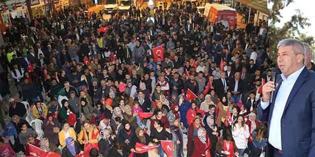 CHP, Narlıca gövde gösterisi