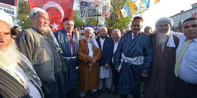 AKP Adayları,  Nevruz kutlamalarında Ovakent'te