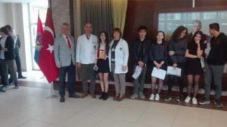 TED'li Esen Türkiye 2.si oldu