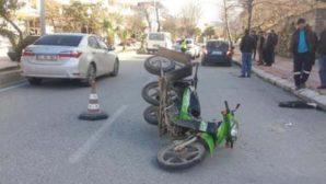 Çevre  yolunda  kaza:
