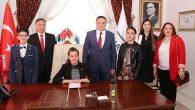 BŞB'nin Minik Başkanı: Meryem Çolak
