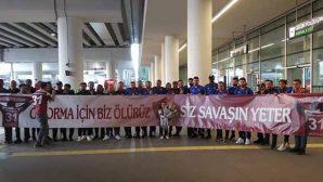 Hatayspor'a İzmir'de  Görkemli Karşılama