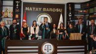 Hatay Barosu'na 5 yeni üye: