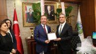 Belen'in AKP'li Başkanının MHP'li yeni Başkana bıraktığı