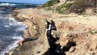 Arsuz sahilinde ceset