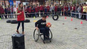 Empati parkıyla engelli olmanın  zorlukları aktarıldı
