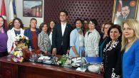 CHP'li Kadınlardan Elmasoğlu'na Ziyaret