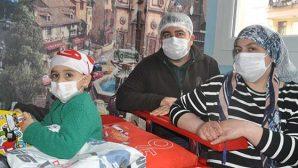 Kanserli minik Umut yardım ellerini bekliyor
