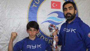 Antakyalı Yıldız Yüzücü Ömer, Türkiye Şampiyonasında