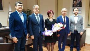 İskenderun ve Kırıkhan'a Adli Yargı'dan Baro Ziyaretleri