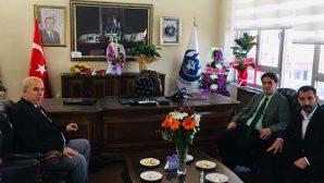 Yayladağı Belediye Başkanı Sayın'ın ilk tebrikçileri