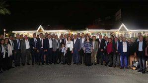 CHP İl Başkanlığı, seçimde çalışan Partililere yemek verdi