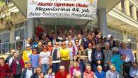45 Yıl öncesinin Akşehir Mezunları Hatay'da buluştu