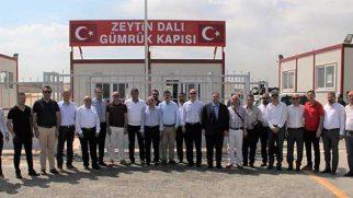 27 İşadamı Yatırım için Afrin'e Gitti