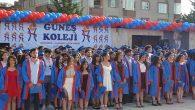 Özel Güneş Koleji mezunları kep fırlattı
