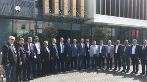 Hatay AKP'de Başkanlar İstanbul'da