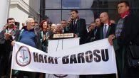 Hatay Barosu dahil 49 Baro ortak açıklaması