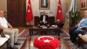 Kilis Barosu Başkanı  Ziyareti Vali Doğan'a