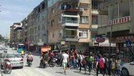 Samandağ'da Cinsel İstismarı Protesto Yürüyüşü