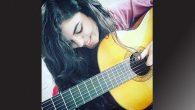 Antakyalı müzisyen genç kız,  ODTÜ Devrim Stadyumunda…