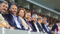Adana Demirspor-Hatayspor maçında Protokol Tribünü
