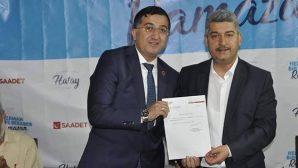 Saadet'in Payas'ta yeni İlçe Başkanı