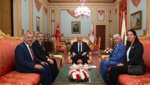 AKP'li 4 Vekilden TBMM Başkanlığı Ziyareti