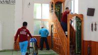 İbadethanelerde özenli temizlik
