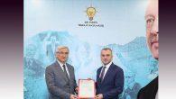 Yeloğlu, AKP İl Başkanı oldu