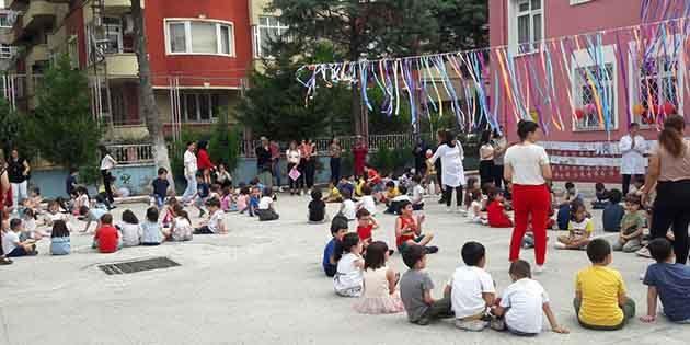 Zübeyde Hanım Anaokulu etkinliği: