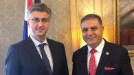 Güzelmansur, Hırvatistan Başbakanı ile