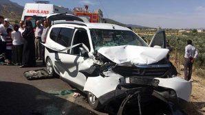 Hassa'da trafik kazası: 13 yaralı