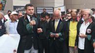 Baro Başkanı Av. Dönmez, İstanbul Adalet Nöbetinde konuştu: