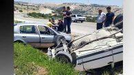 Antakya-Yayladağı  yolunda kaza