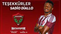 Hatayspor'dan Diallo'ya  teşekkür