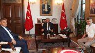 Zonguldak ve Karabük Vali'leri Hatay'da