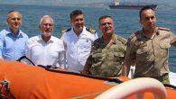 """Sahil Güvenlik Komutanı'na """"Hayırlı Olsun"""" Ziyaretleri"""
