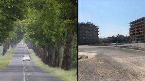 40-50 Yıl Öncesi ve Bugünün Caddeleri
